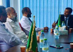 زيارة الدكتور محمد شهيم لمكتب البعثة السعودية التعليمة في المالديف