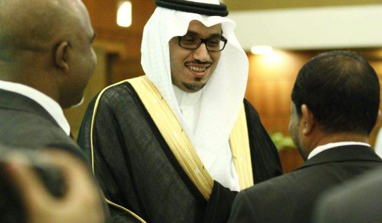 السفير بدر بن علي الكحيل مهندس العلاقات Maldives 1 (1)