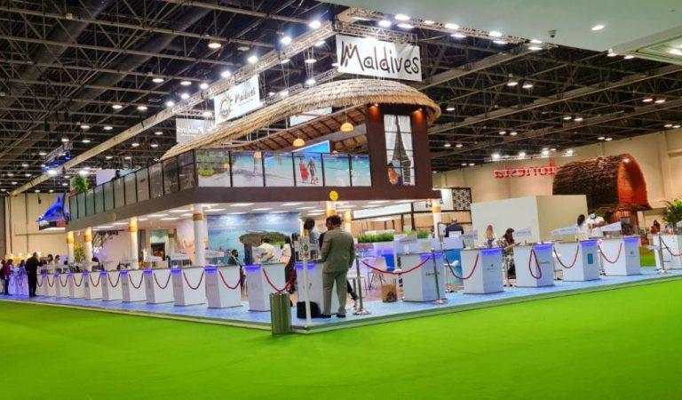 عرض جزر المالديف في سوق السفر العربي