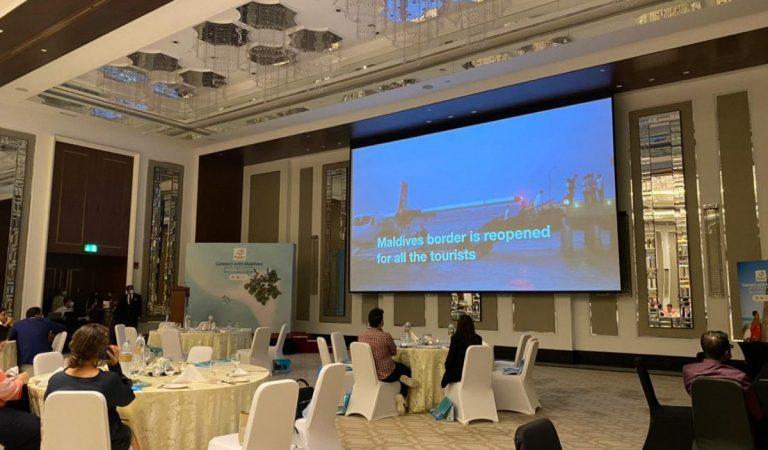 شركة عليك بزيارة المالديف تستضيف فعاليات مهمة على جانبي سوق السفر العربي