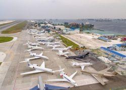 المالديف للتسويق يمكن تحقيق الهدف بالنسبة للسياح القادمين من خلال 6000 رحلة طيران.