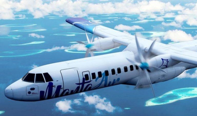 مانتا للطيران تبدأ رحلاتها مع السائحين