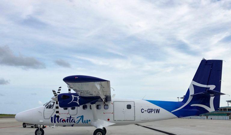 مانتا للطيران ترحب بطائرة مائية جديدة في أسطولها