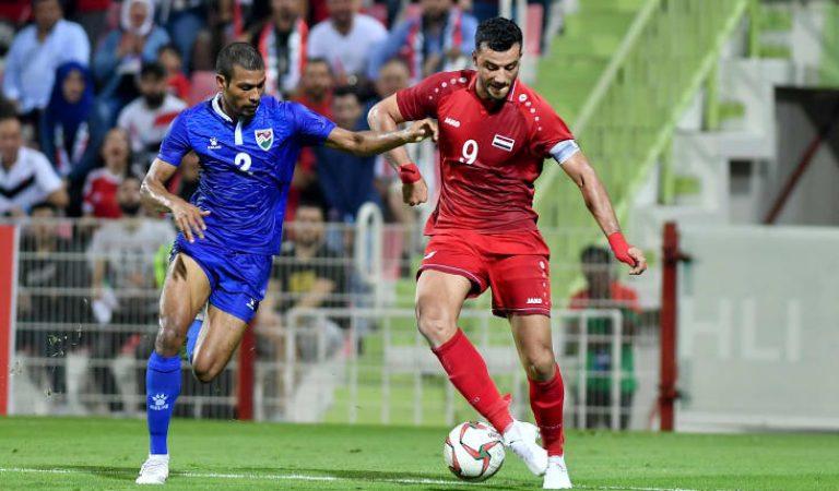 مباراة منتخب المالديف مقابل منتخب سوريا Maldives Syria