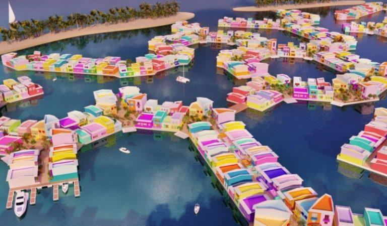 المالديف تدشن مشروع المدينة العائمة