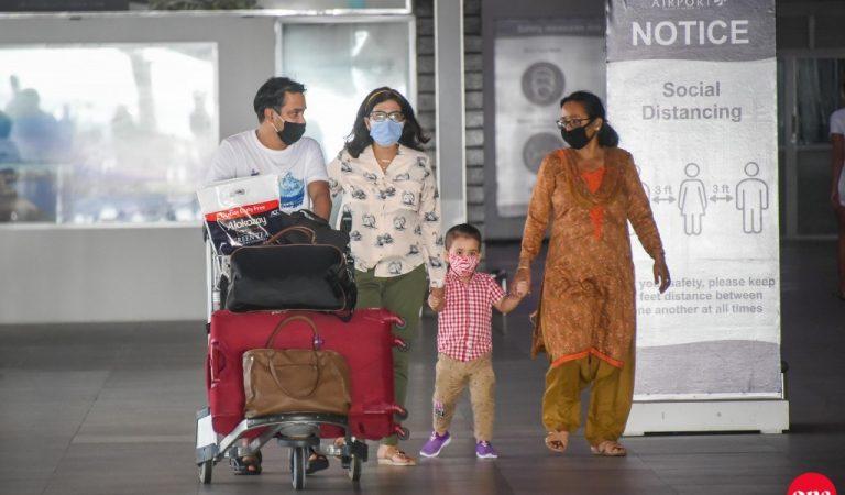 91000 سائح زاروا جزر المالديف الشهر الماضي ، وهو أعلى رقم من الهند