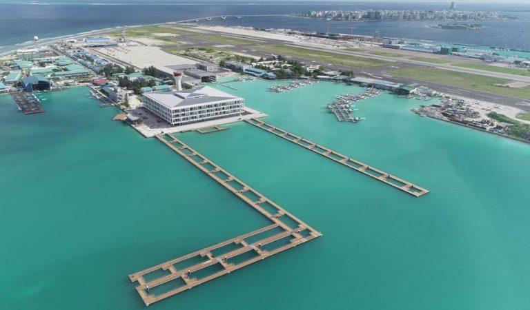 ( MACL) تكمل 95% من المبنى الجديد الخاص بالطائرات المائية