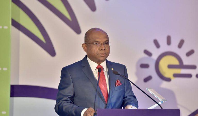 وزير خارجية المالديف معالي السيد عبد الله شاهد