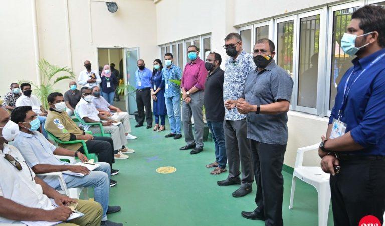 تسمح المالديف بالدخول اليها دون اختبار PCR بعد استكمال التطعيم